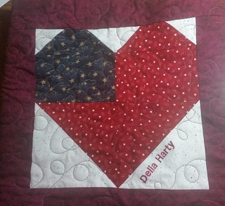 Mom's friendship quilt is done! Two finishes this week and lots of blocks.