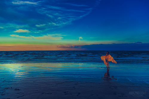 blue sunset sea people orange woman white reflection green beach girl beautiful clouds evening bay model texas unitedstates outdoor piano teen fabric shore ppl bluehour seabrook tru galvestonbay eljardin chamberscounty galvestoncounty greaterhouston trucdinh