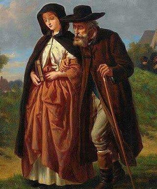 مرت  امرأة فائقة الجمال برجل فقير فنظر إليها وقلبه يتفطر شغفا بجمالها تقدم منها وقال .