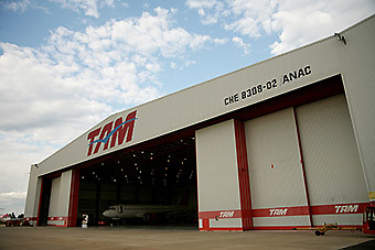 TAM MRO hangar (LATAM Airlines)