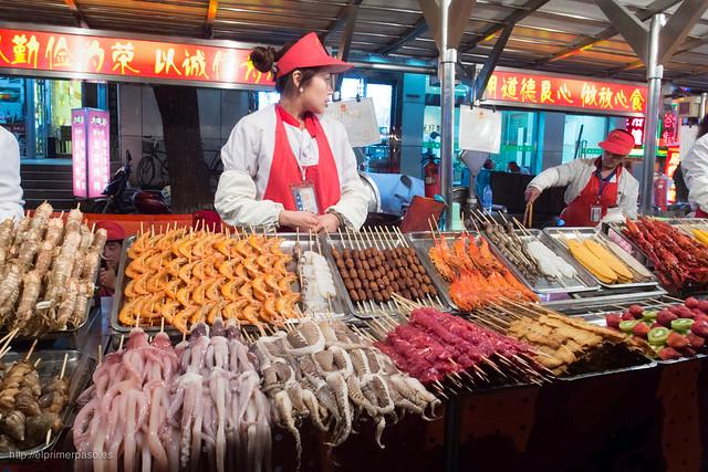 Beijing - Mercado Donghuamen