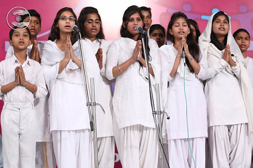 Devotional song by devotees from Muzaffar Nagar