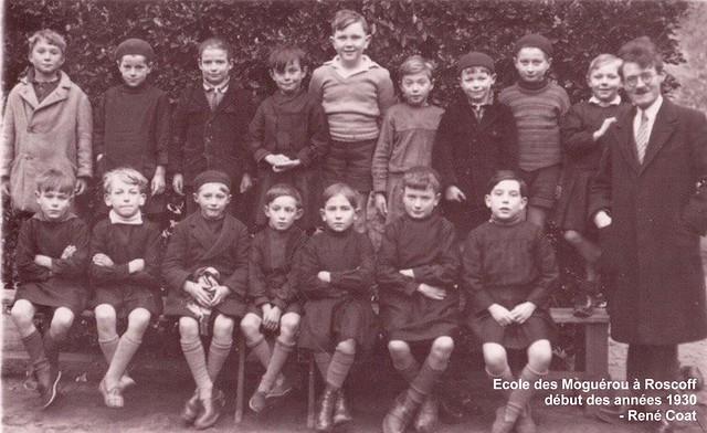 Roscoff - Ecole des Moguerou vers 1930