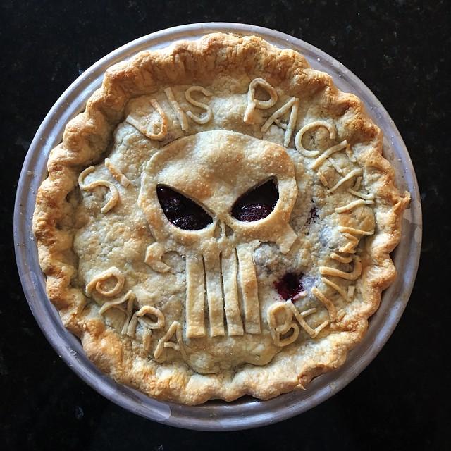 Pie-nisher!