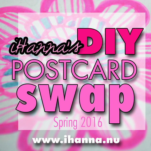 DIY Postcard Swap Spring 2016