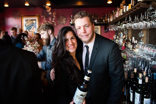 MoKi Media Co-Founder Dannia Hakki and Chaplins Owner Ari Wilder kick off cherry blossom season with Kirin Ichiban by Joy Asico