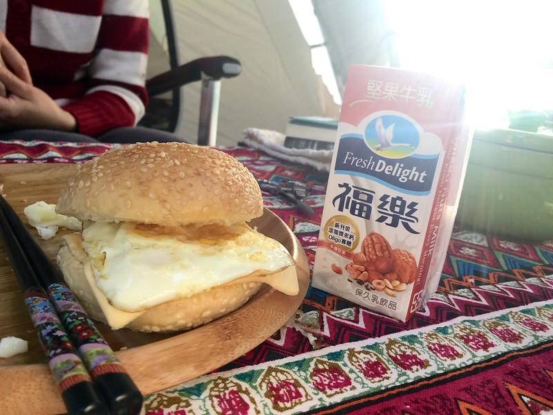 漢堡包早餐