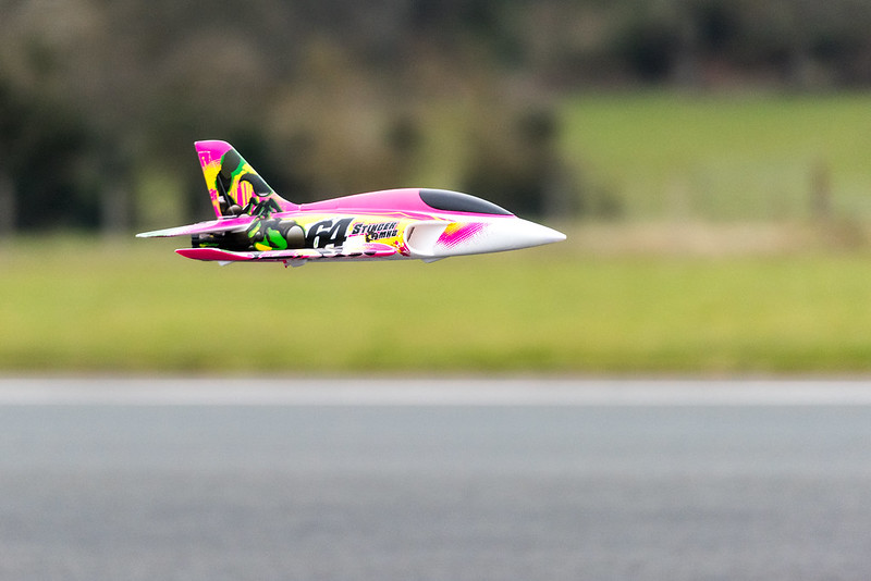 Phil doing very low passes with the Stinger MK2.