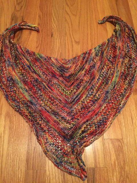Reyna shawl