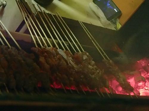 中国本格的新疆羊肉串焼 - naniyuutorimannen - 您说什么!