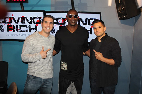 Terrell Owens on the Covino & Rich Show