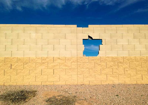 arizona usa wall hole damage homestead triking maricopa