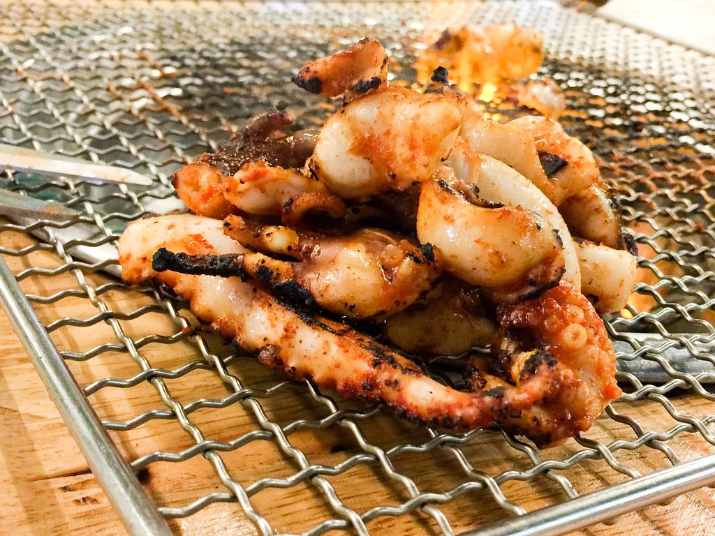 BBQ Baby Octopus