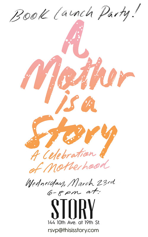 A Mother is a Story Book Launch invitation
