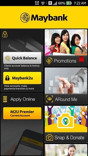 All new maybank2u mobile app
