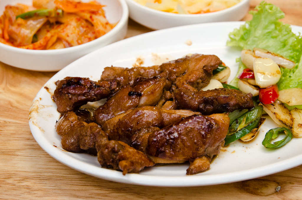 Sae Ma Eul BBQ chicken