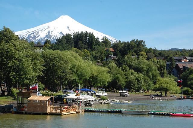 Volcán Villarica, La Poza, Pucón, Chile