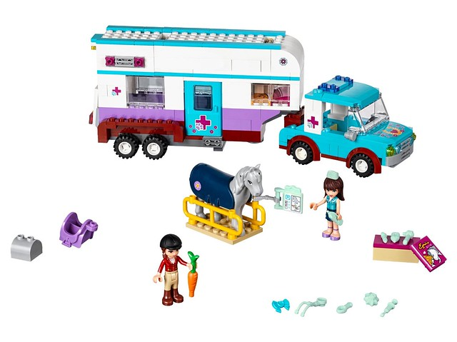 LEGO Friends 41125 - Vet Horse Trailer