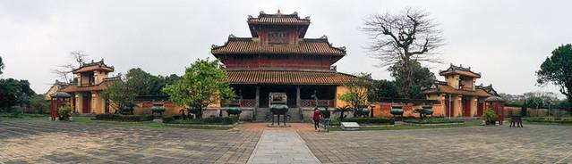 Hiển Lâm Các @ Hue Royal Palace