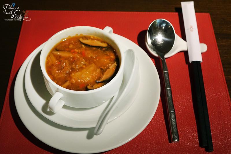 noble swissotel nai lert park szechuan style soup