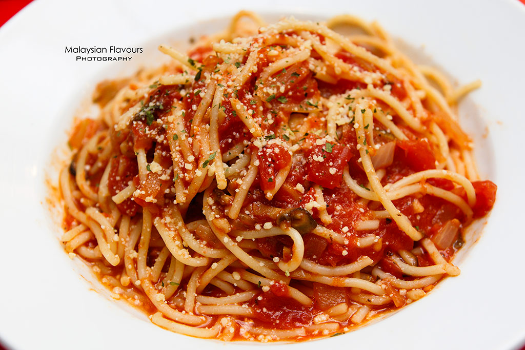 Fish & Co. Malaysia Set Lunch Menu spaghetti