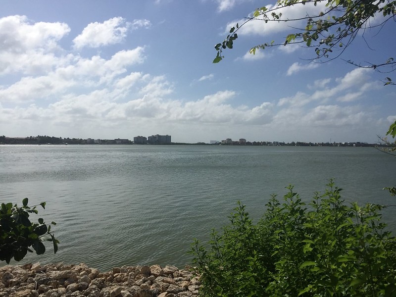 Laguna Nichupté desde Plaza Flamingos