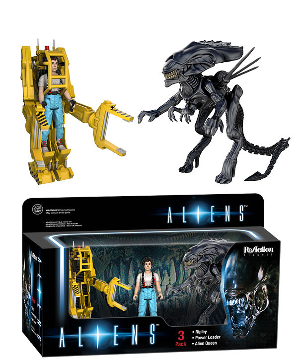 FUNKO × SUPER7 ReAction 系列【異形豪華組合包】Aliens 3-Pack 3.75吋