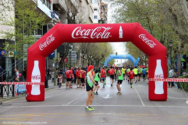 X Media Maratón de Cáceres 2016