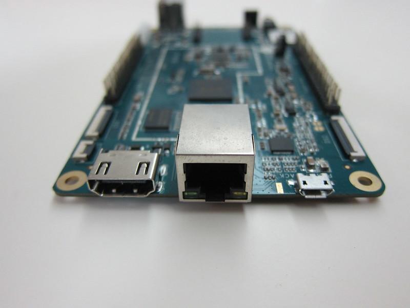 PINE A64 - Back - HDMI/RJ45/MicroUSB Ports