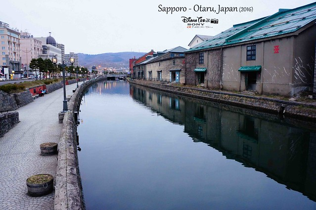 2016 Japan, Sapporo Otaru Canal