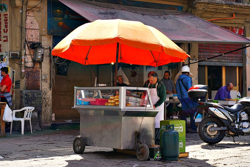 Street Food Vendor on Palermo StrEat Food Tour