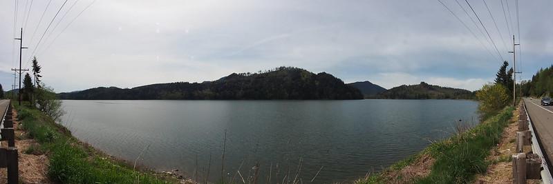 Alder Lake: Impounded by Alder Dam.
