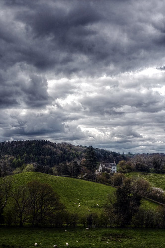West Malvern - view from the hills