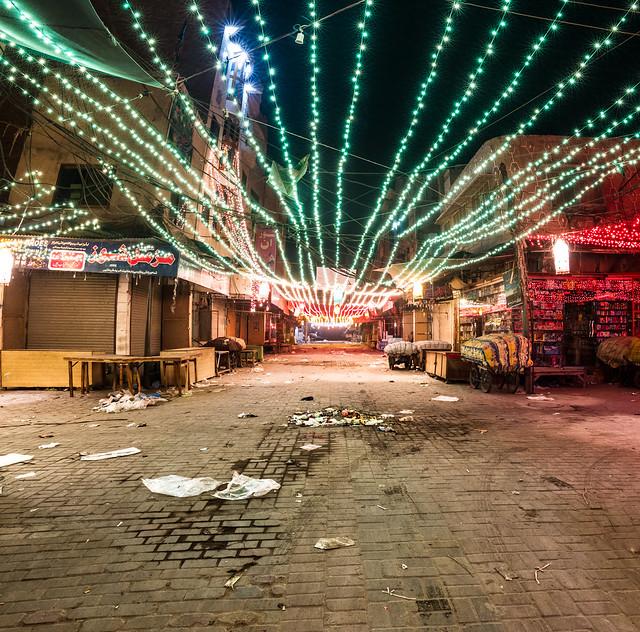 Streets of Sadiqabad
