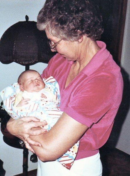Grandma and Baby Sarah