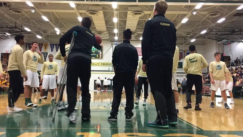 City vs. West basketball Miriam