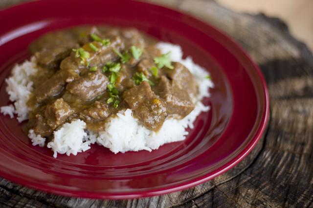 Pressure Cooker Beef Tips