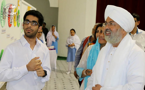 Divine Couple visits exhibition
