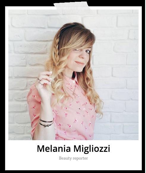 Melania Migliozzi Glamour Beauty Reporter