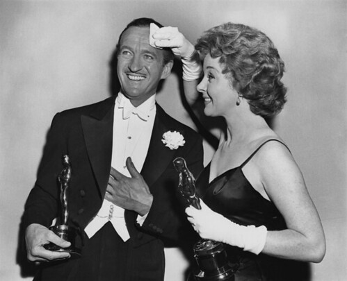 Separate Tables - David Niven with Oscar