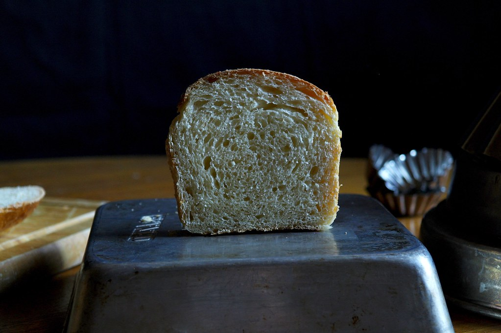 slice of milk bread