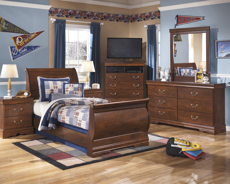 Kids bedrooms all american mattress furniture - Ashley furniture kids bedroom sets ...