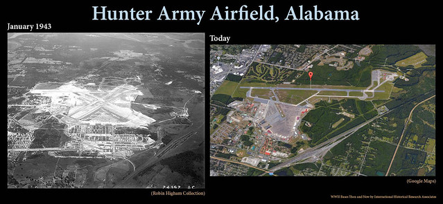 Hunter Army Airfield Then and Now