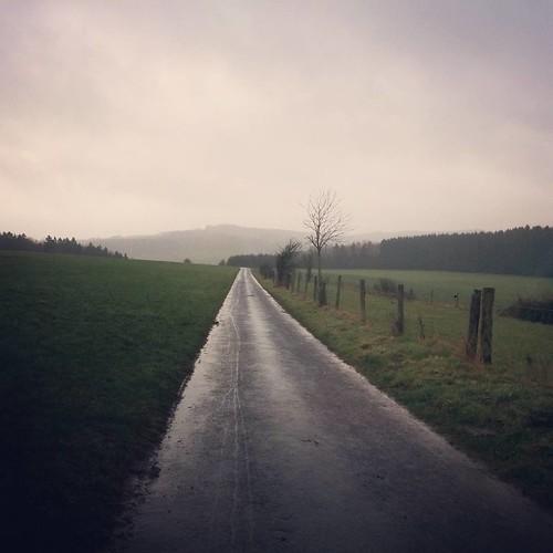 Eindeloze regen. #latergram #onderweg #hiking #ardennen #ardennenweekend