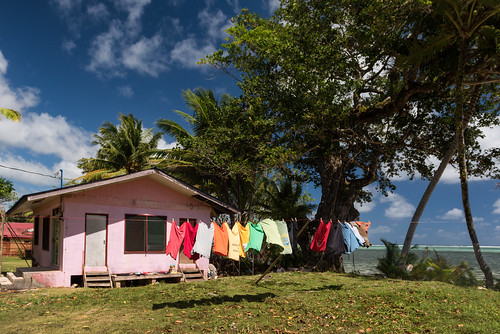 ocean life beach water island day cloudy culture laundry clothesline breeze palau pw micronesia oceania babeldaob melekeok