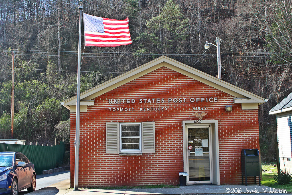 United States Post Office -- Topmost, Kentucky
