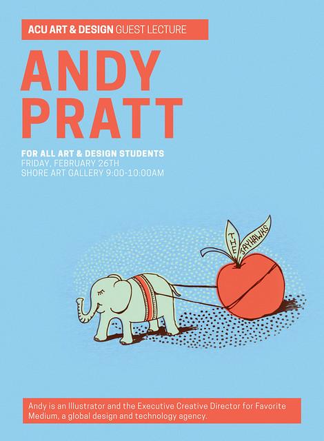 A&D Andy Pratt Poster 35x48