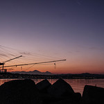 Pescara at sunset