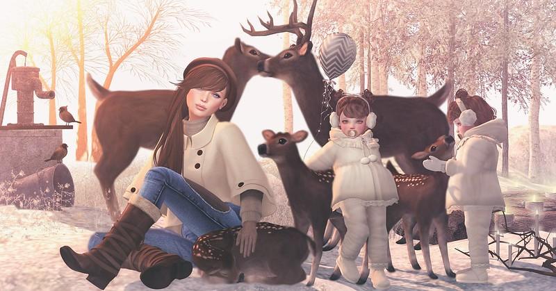 Amelie et les petites: Dear deer