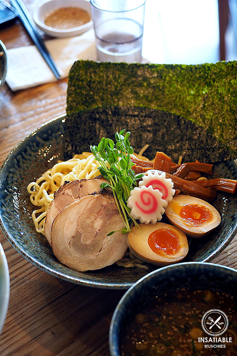 Tsukemen, $15.90: Manpuku, Chatswood. Sydney Food Blog